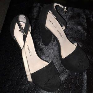 Black Chinese Laundry heels